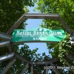 Startpunkt Harzer Hexenstieg an der Bleichestelle Osterode am Harz