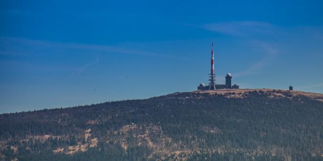 Der Brocken im Harz | 1141m hoch