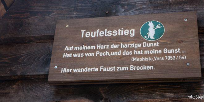 Wanderweg zum Brocken | Teufelsstieg 6,5km