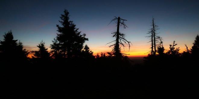 Brockenwanderung im Morgengrauen