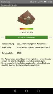 Wandernadel App